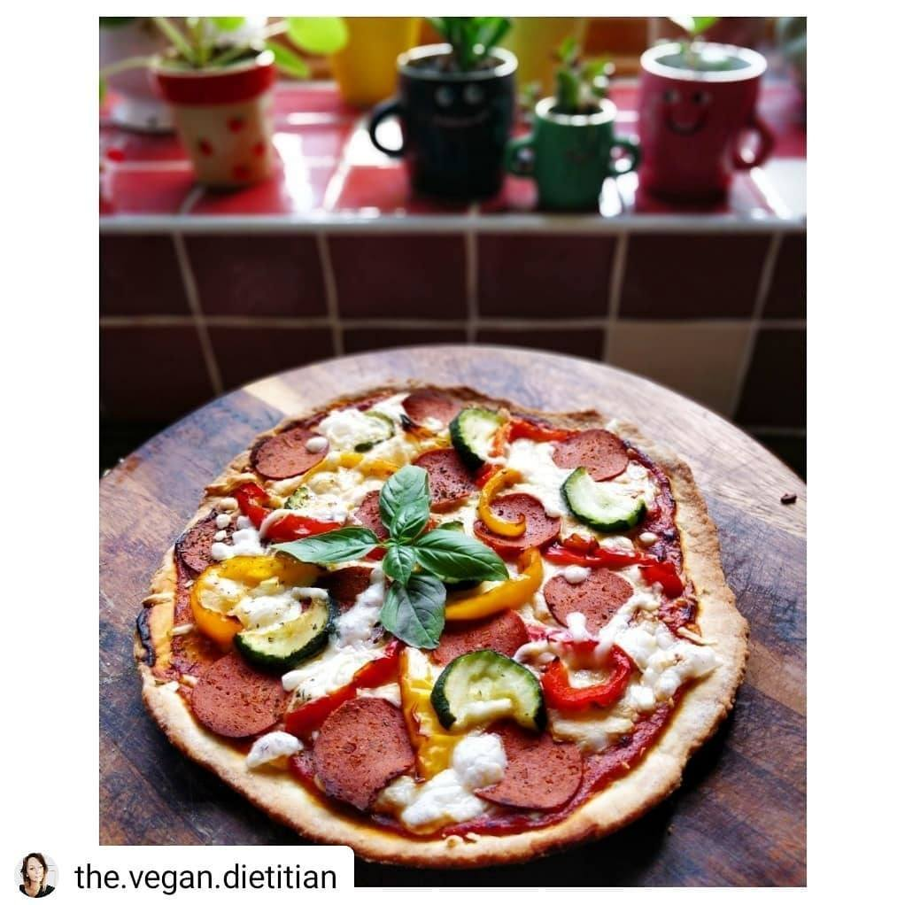 Vbites the pioneers of plant based food since 1993 meat free pepperoni slices buy now forumfinder Choice Image